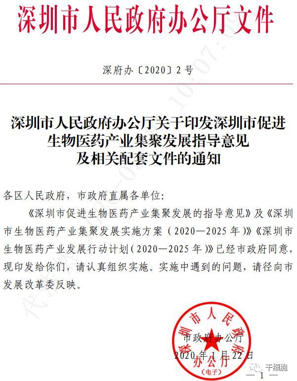 政策来了!深圳特区拟先行先试国际前沿医疗技术!